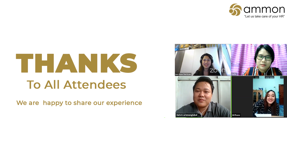 Thanks to attendees for payroll webinar myanmar