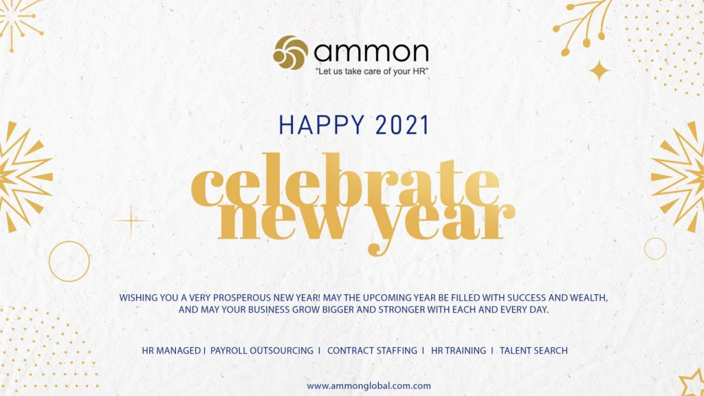 New Year 2021 Myanmar Ammon Consulting HR Outsourcing